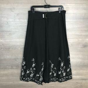 3/$25🛍️ Mobaco Women's Linen A-Line Midi Skirt